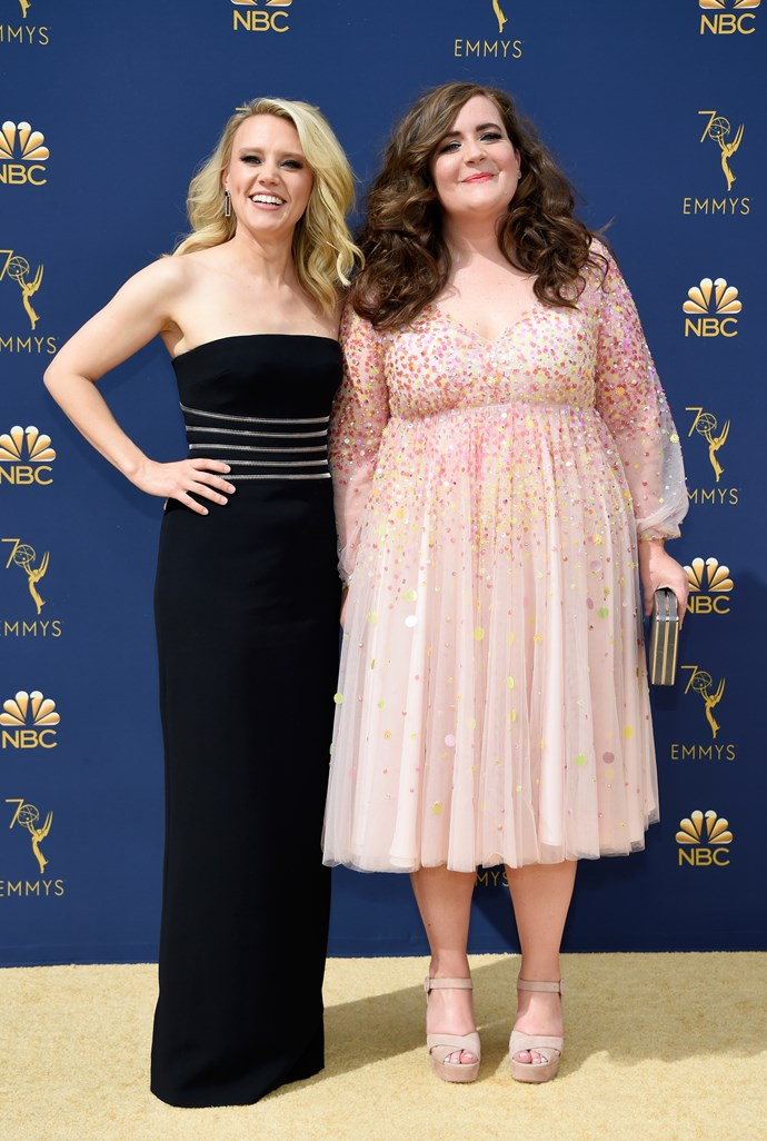 Kate McKinnon and Aidy Bryant