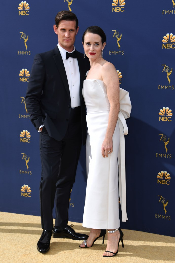 Claire Foy and Matt Smith (we know, they're an on-screen couple, but they were too cute not to include)