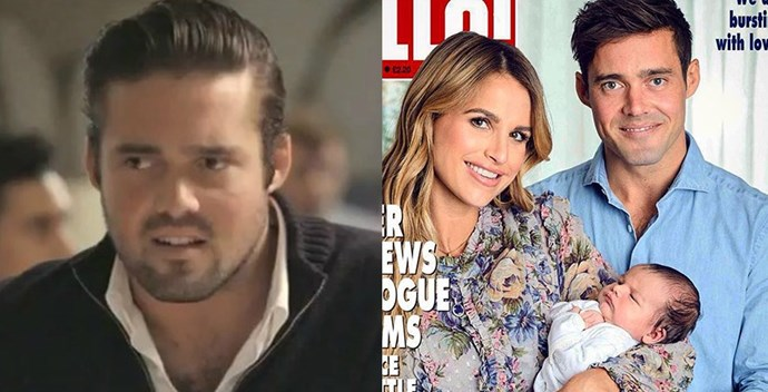 **Spencer Matthews** <br><br> Spencer was the OG posh bad boy, stirring up trouble wherever he went. He had flings with Caggie, Louise, Stephanie, Funda, and Lauren — failing miserably with all. However, he's really made a change for the best and has settled down with Irish TV personality Vogue Williams (who was previously tied to Brian McFadden. Vogue and Spencer got married and welcomed a little baby boy, named Theodore, this year. A changed man!
