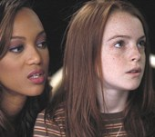 It's official: LINDSAY LOHAN WILL STAR ALONGSIDE TYRA BANKS FOR 'LIFE SIZE' SEQUEL