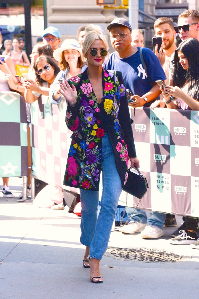 A seriously divine street style look in 2018.