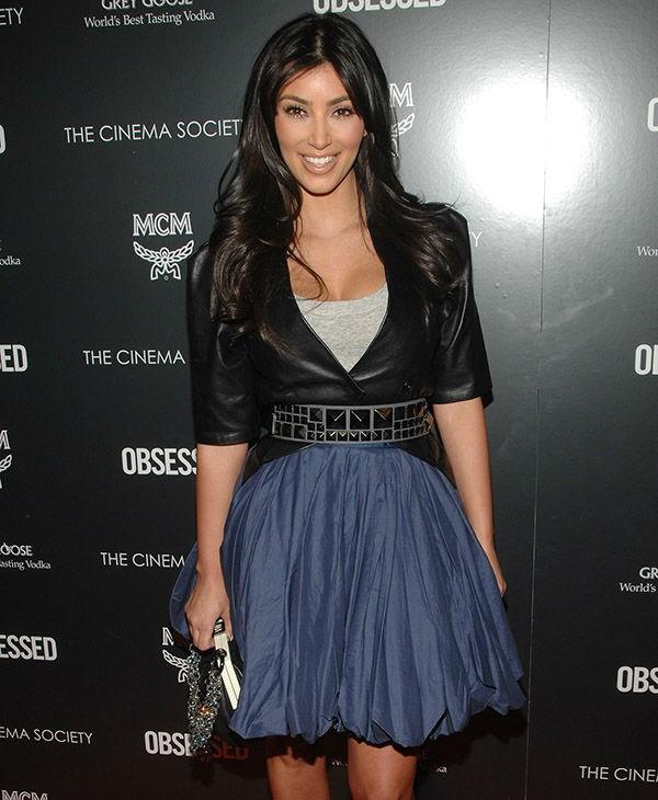 Kim loved a ruffled skirt.