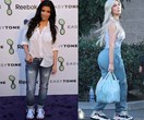 Kim Kardashian's fashion before and afters are insane