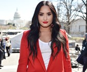 Demi Lovato has been spotted at a rehab for the first time since overdose