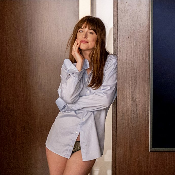 "**Dakota Johnson:** There's stripping off and then there's STRIPPING OFF. Dakota did the latter for the infamous *Fifty Shades* franchise, which saw her get topless, full frontal and super kinky with co-star Jamie Dornan. Dakota has said she was never tempted to use a body double for the raunchy scenes because it would feel ""like a cop out""."