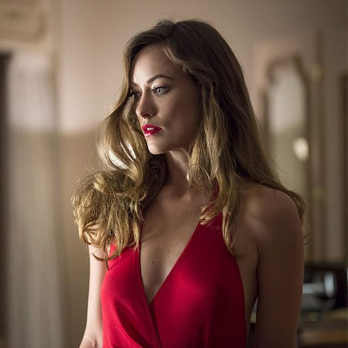 "**Olivia Wilde:** Everyone's dream girl went FULL FRONTAL for the HBO series, *Vinyl*. ""That is the gift HBO provides to young people who can stay up late enough to see boobs,"" she joked. She's also admitted she wore a pubic wig to make her bush look full 70s. That's commitment."