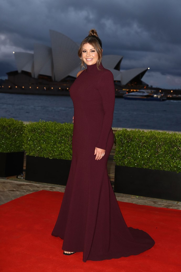 Yvonne Sampson sporting this stunning turtle-neck number.