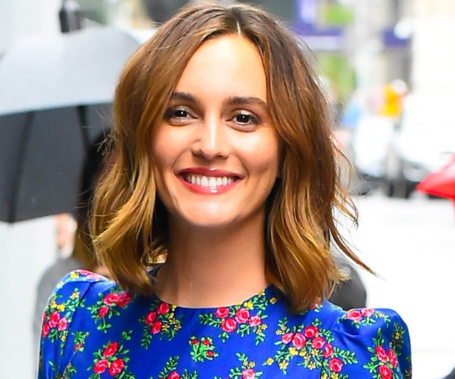 Leighton Meester just had a major Blair Waldorf fashion moment