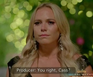 Bachelor's Cass had a panic attack on the night of her eviction and bless her sweet soul
