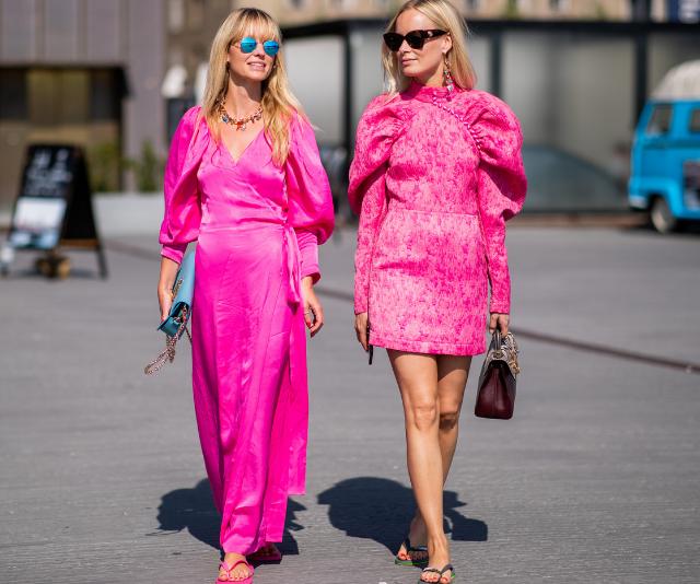 Hold up, are flip-flops legitimately fashionable now?
