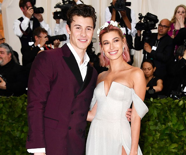 Shawn Mendes was just asked if he would perform at Hailey Baldwin's wedding and this is fckn awkward