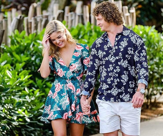Sophie says that The Honey Badger slid into her DMs after filming 'The Bachelor Australia' 2018
