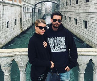 Sofia Richie just posted a very raunchy pic of her and Scott Disick together