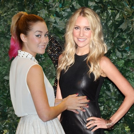 """**Lauren Conrad and Kristin Cavallari are out.**  Sadly, the famous feuders will not be making an appearance. Kristin has her own reality show, *Very Cavallari*, while LC is """"in a different place"""" according to a *People* source."""