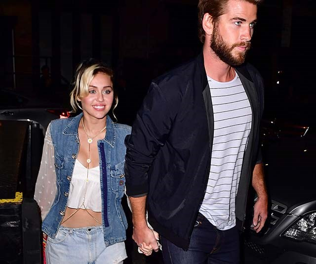 Miley Cyrus has been spotting shopping for baby clothes and PARDON?!