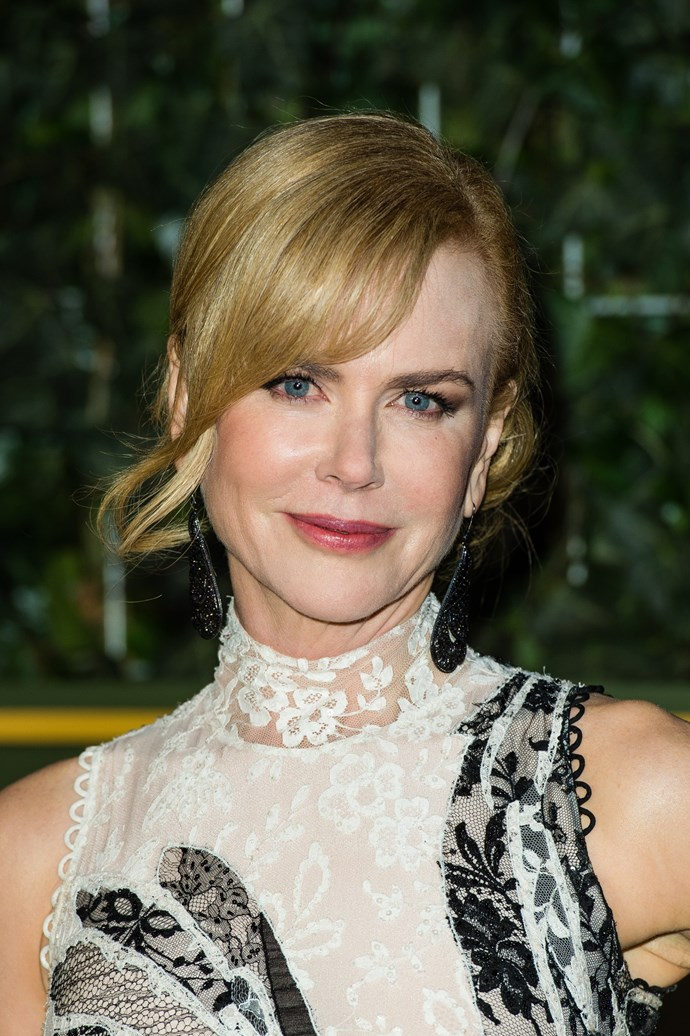 **Nicole Kidman as Nancy Eamons:** Nicole Kidman is one of the frontrunners for an Oscar thanks to her portrayal of Jared's conflicted mother, who loves him but also wants to change him.
