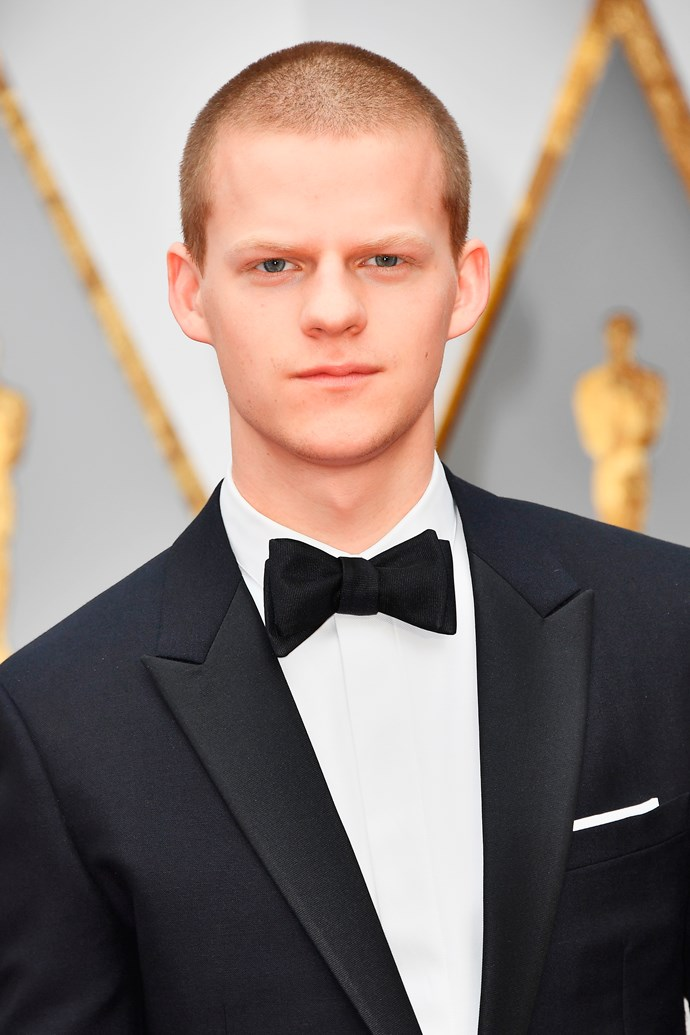 **Lucas Hedges as Jared Eamons:** 21-year-old Lucas, an Oscar nominee, plays Jared Eamons, the character based on Garrard. You'll know him from *Manchester By the Sea* and *Lady Bird*.