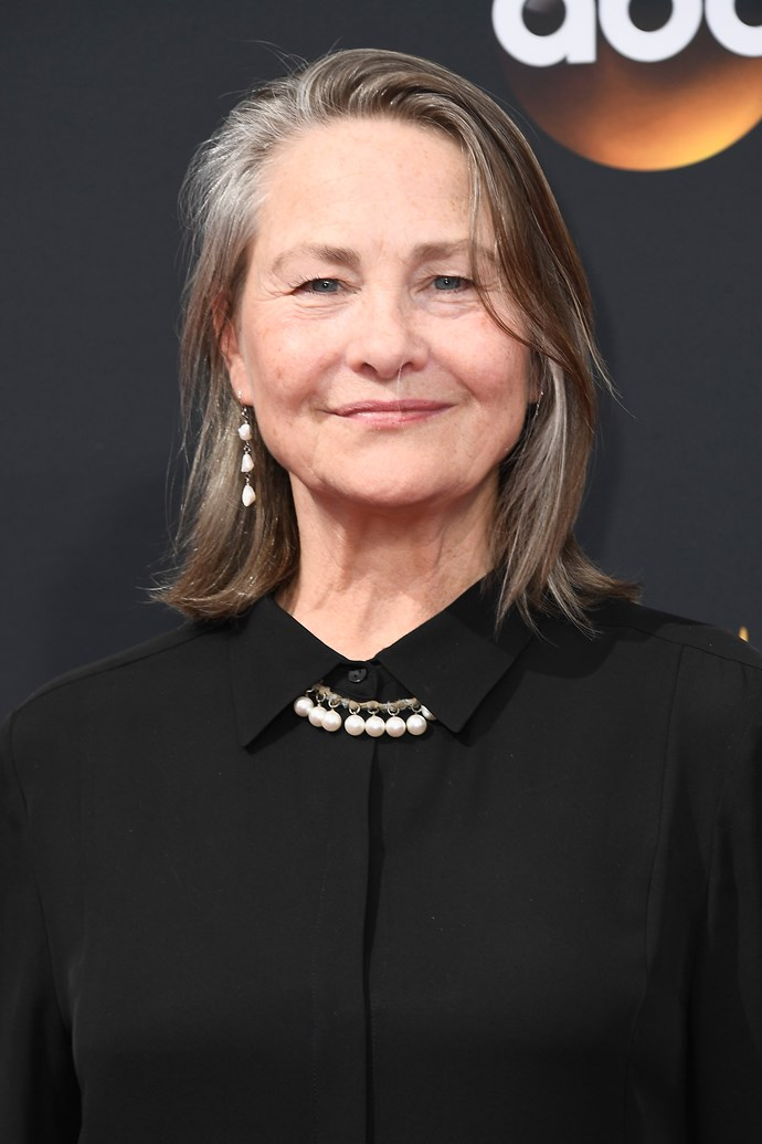 **Cherry Jones as Dr Muldoon:** You'll probably recognise Cherry if you're a fan of *The Handmaid's Tale*, given she played Holly Maddox in the series. In *Boy Erased*, she plays a kindhearted doctor who tries to help Jared accept his sexuality.