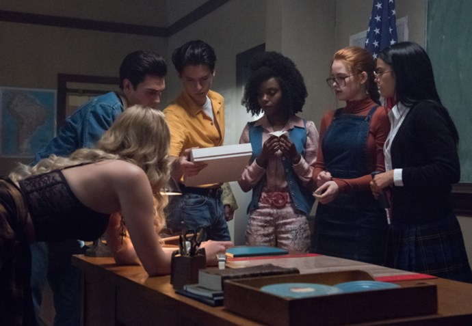 Solving mysteries is clearly in the *Riverdale* crew's DNA.