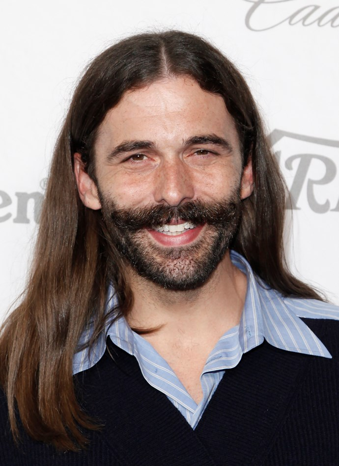 **ARIES: Jonathan Van Ness from *Queer Eye*** <br><br> Aries, you won, TBH. As an Aries himself, Jonathan is literally the embodiment of a fun, frivolous Fire Sign personality, and will be able to make you look flawless and scream with laughter in the process. No, he isn't straight, but considering the amount of fun you'll have together, it doesn't even matter.