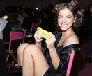 Dylan Sprouse hand delivered burgers to Barbara Palvin after the Victoria's Secret Show