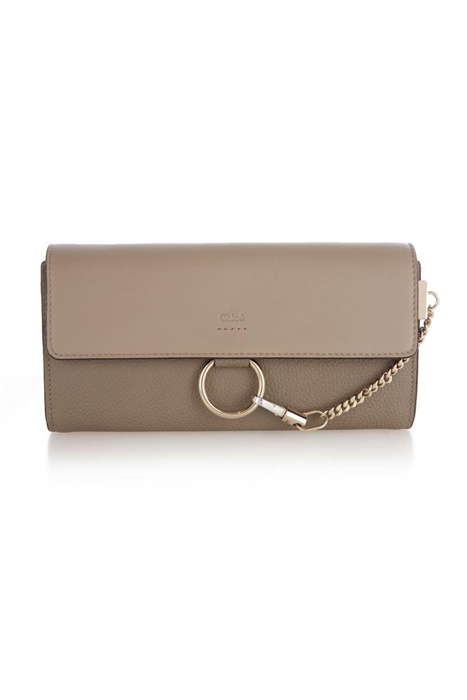 A chic wallet will never go out of style. This wishlist-worthy Chloé version is having a major moment.   *Wallet, $439, Chloé at [Matches Fashion](http://www.matchesfashion.com/au/womens/designers/chloe)*