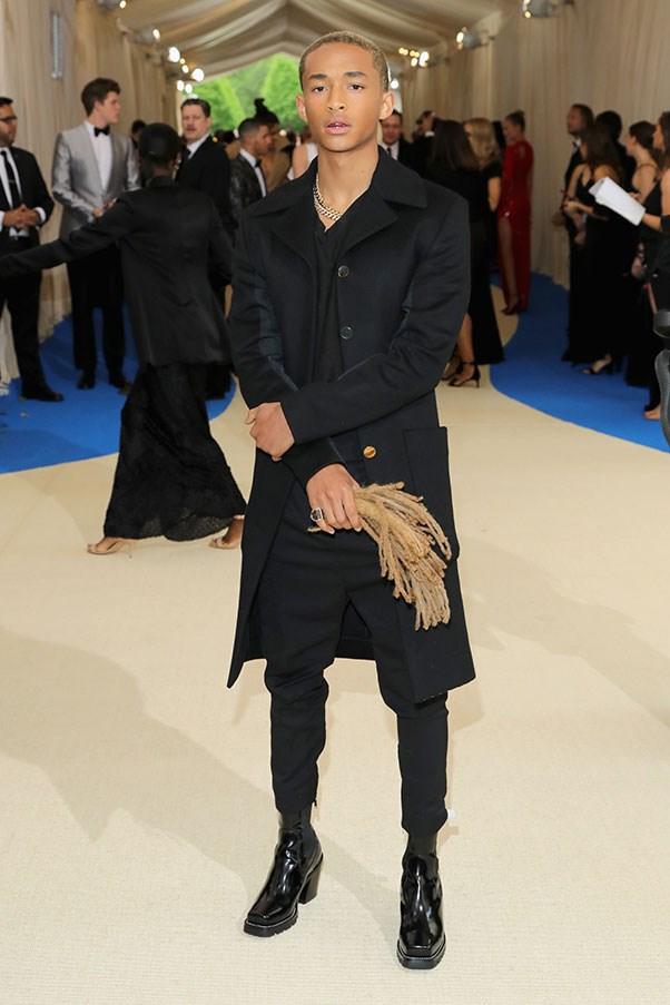 Jaden Smith in Chanel.