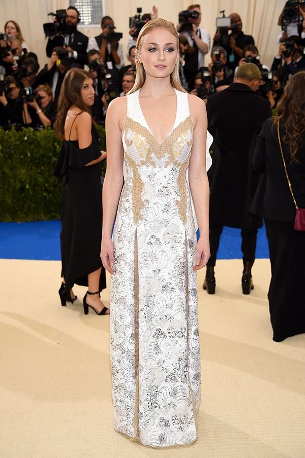 Sophie Turner in Louis Vuitton.