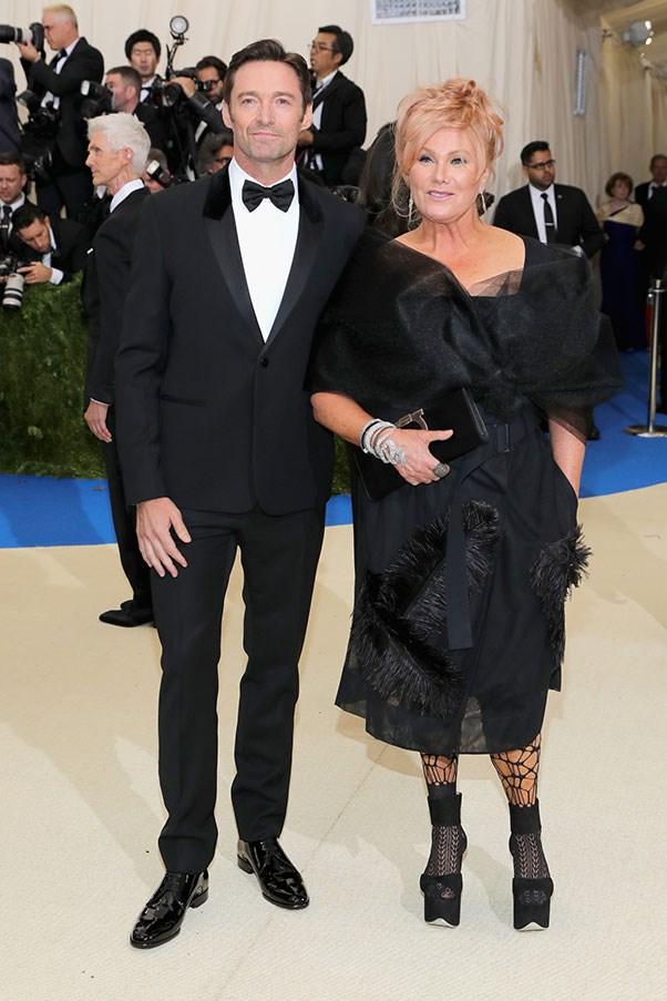 Hugh Jackman and Deborah Lee Furness.