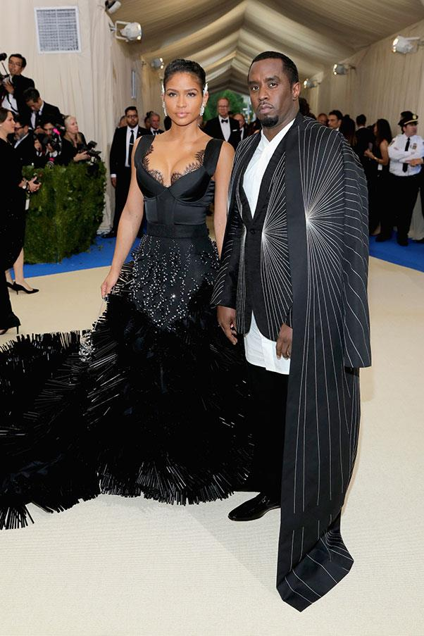 Cassie and P Diddy.