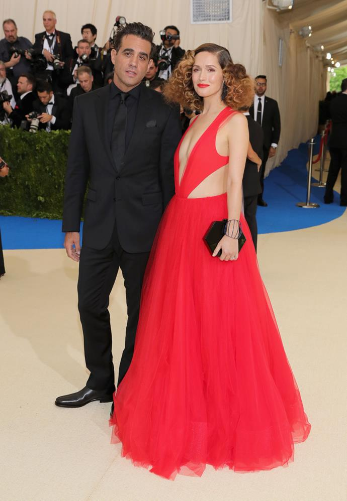 Bobby Cannavale and Rose Byrne made quite the entrance.