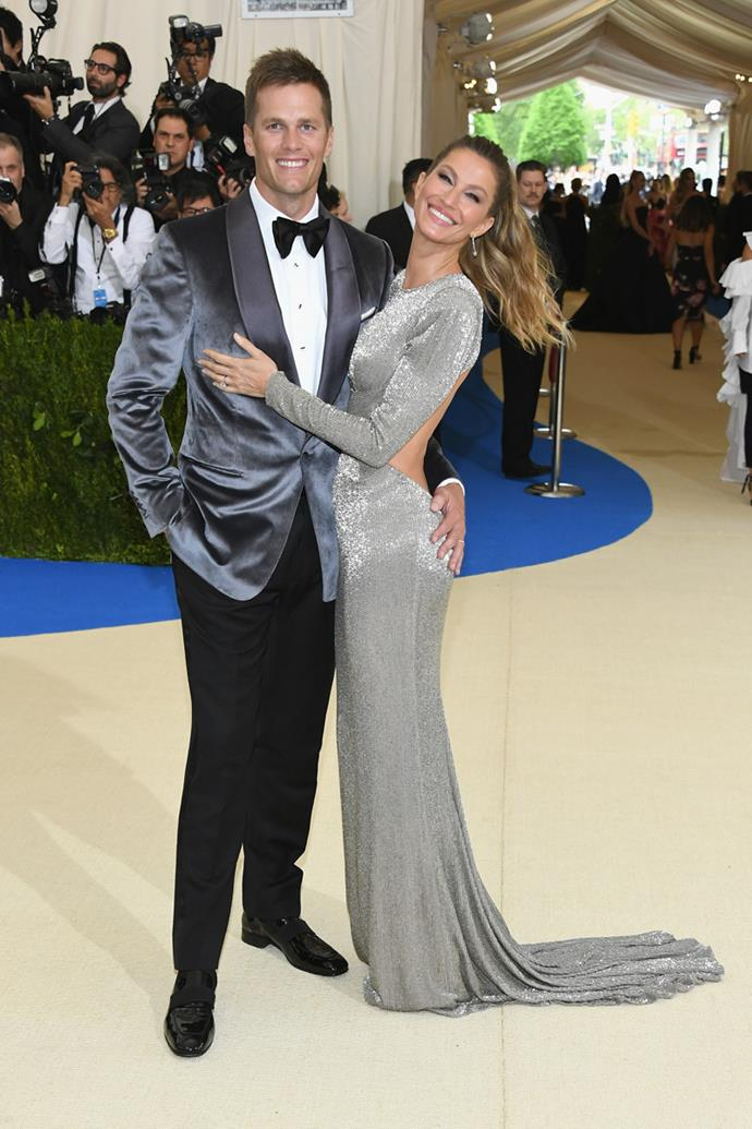 Co-chairs Gisele Bündchen and Tom Brady were among the first to arrive.