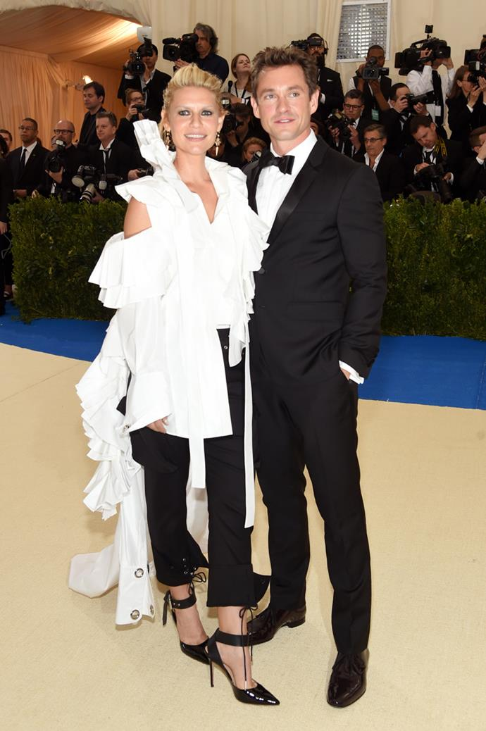 As were Claire Danes and Hugh Dancy.
