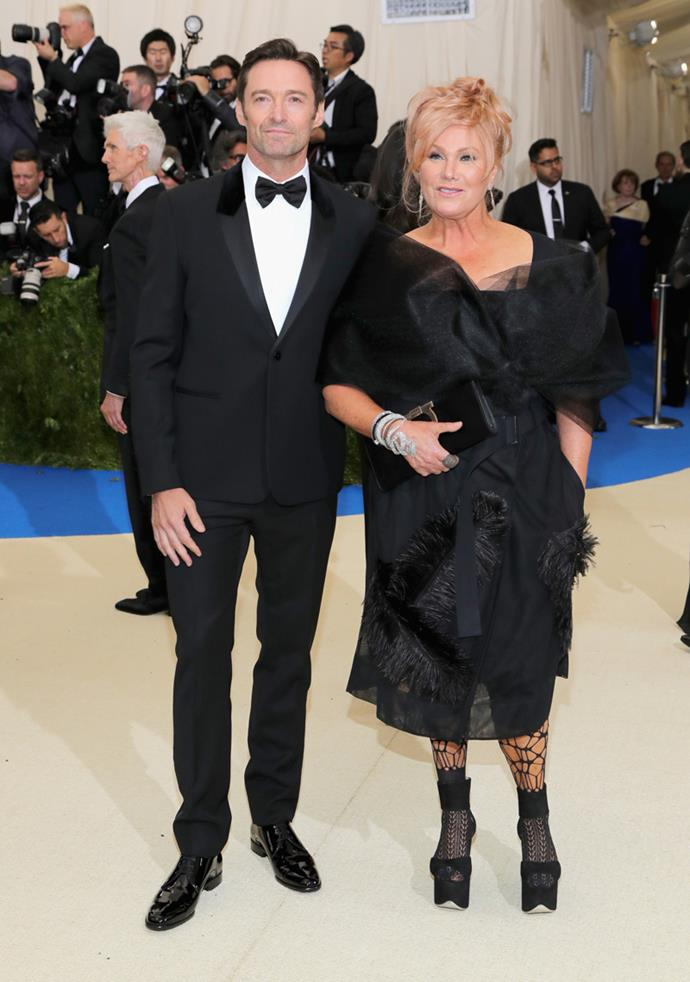 Hugh Jackman and Deborra-lee Furness were among the A-list guests.