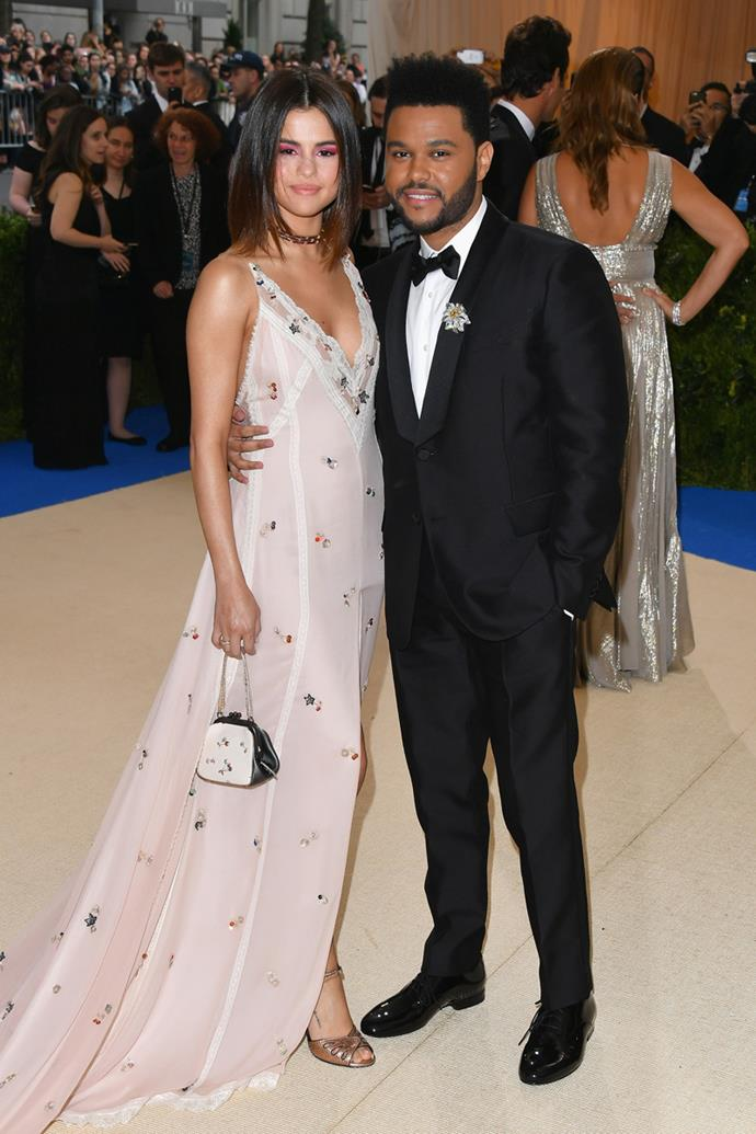 Selena Gomez and The Weeknd (real name Abel Tesfaye) made their red carpet debut as a couple.