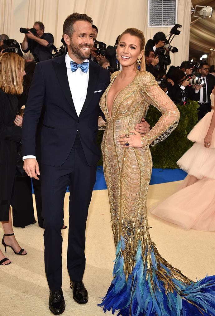 Of course Ryan Reynolds and Blake Lively were picture-perfect.