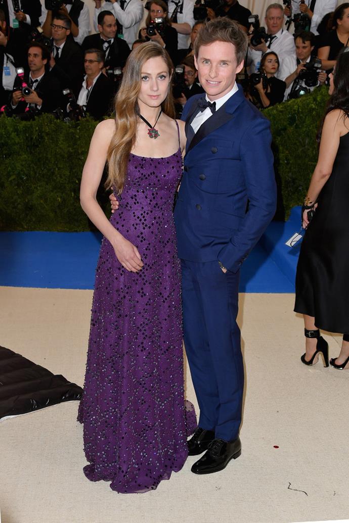 Eddie Redmayne and his wife Hannah Bagshawe looked lovely.