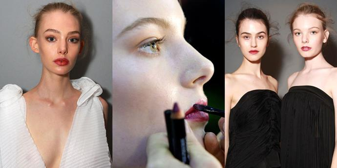 **Michael Lo Sordo, 2015** In our books, the berry lip created by Maybelline New York make-up director Nigel Stanislaus at Michael Lo Sordo's show back in 2015 is still one of the most beautifully wearable looks of recent years. Get the look with [Color Sensational Color Drama](https://www.maybelline.com.au/lip-makeup/lip-color/color-sensational-color-drama/Berry-Much) in 'Berry Much'.