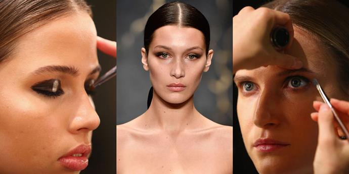 **Misha Collection, 2016** Potentially the most notable appearance of last year's event, it's hard to beat Bella Hadid and her Maybelline-created smokey eye at [Misha Collection](http://www.elle.com.au/culture/elle-interview-misha-collection-designer-michelle-aznavorian-7756) in the MBFWA beauty stakes.