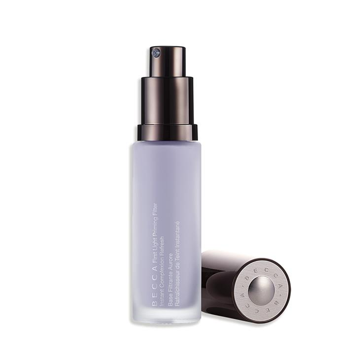 Woken up feeling *meh*? This primer will soon pep your skin up. Consider it like a latte—or three—for your skin. First Light Priming Filter Instant Complexion Refresh, $38, at [Becca](https://www.beccacosmetics.com/first-light-priming-filter.html)