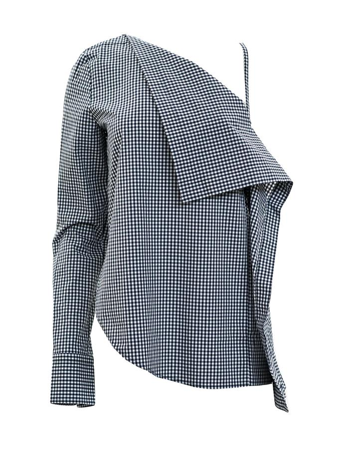 """*4. Deconstructed shirting*  Buy: Shirt by Dion Lee, $450 at [Undone Store](https://www.theundone.com/collections/tops/products/dion-lee-axis-sleeve-shirt-gingham
