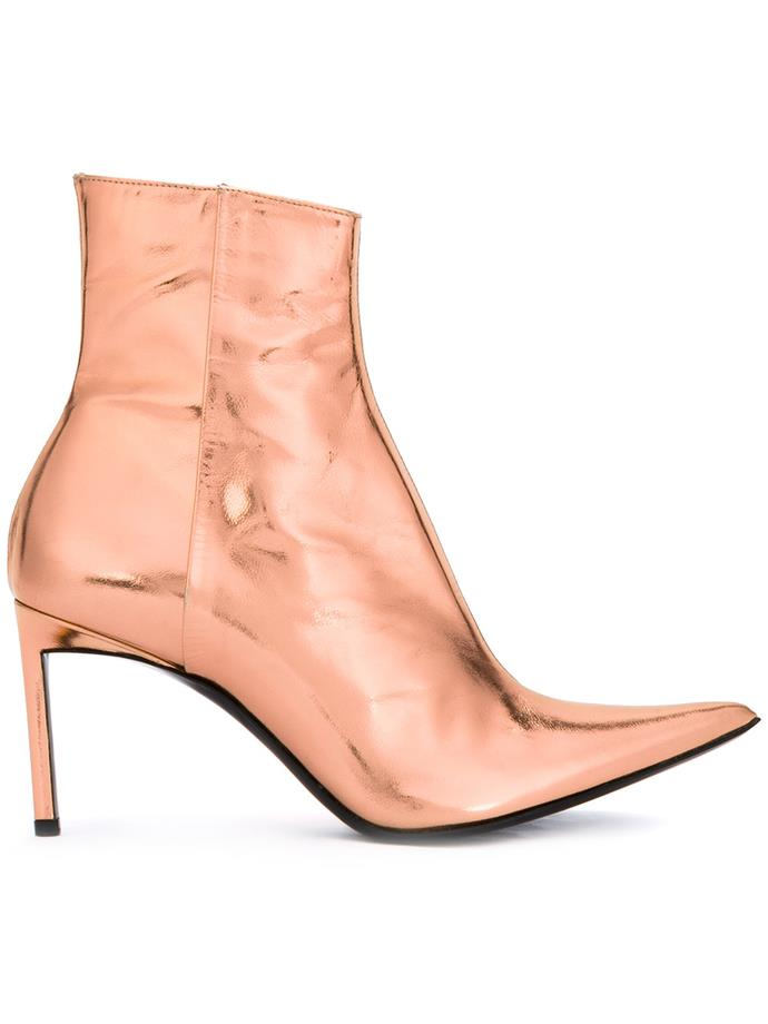 """*5. Metallic boots*  Buy: Boots by Haider Ackermann, $1,160 at [Farfetch](https://www.farfetch.com/nz/shopping/women/haider-ackermann-ankle-boots-item-12091899.aspx?storeid=9336&from=listing&rnkdmnly=1&ffref=lp_pic_8_7_