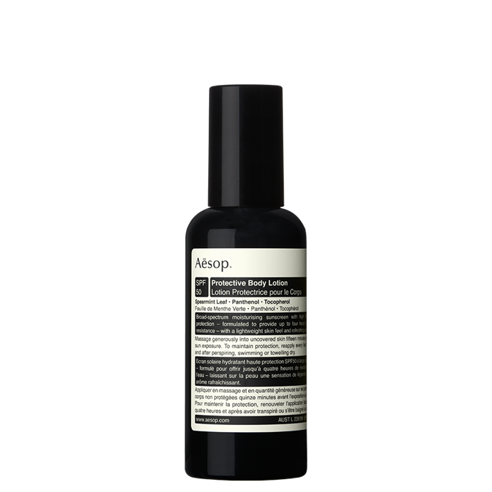 "**3. Aesop Protective Body Lotion SPF 50, $40, at [Aesop](http://www.aesop.com/au/gift/protective-body-lotion|target=""_blank""