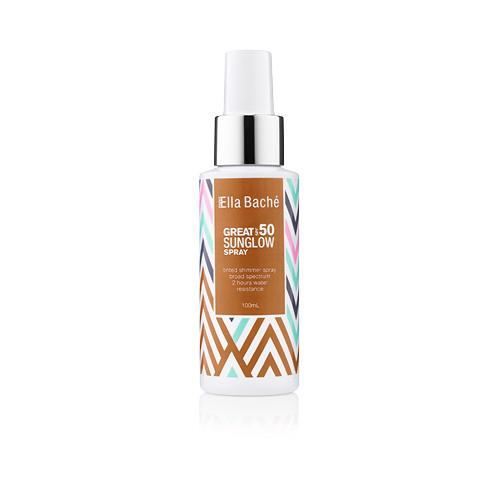 "**4. Ella Bache Great SPF 50 Sunglow Spray, $49, at [AdoreBeauty](https://www.adorebeauty.com.au/ella-bache/ella-bache-great-spf50-sunglow-spray.html|target=""_blank""