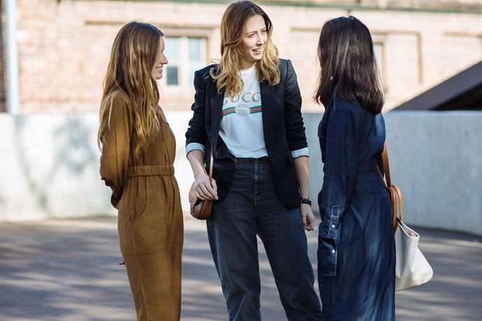 Genevra Leek, ELLE Associate Editor <br>  Genevra wears Gucci tee, Stella McCartney jacket, Isabel Marant Etoile jeans, Céline bag, The Fifth watch and J.Bobyn bangle.