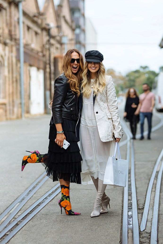 Tash Sefton and Elle Ferguson  Image: [Stylesnooperdan](http://www.stylesnooperdan.com/)