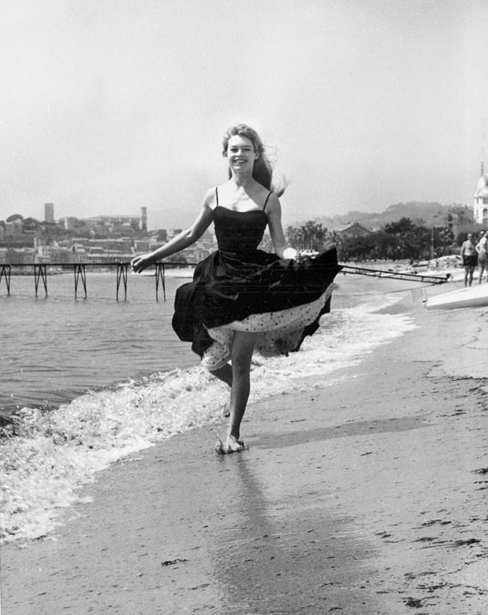 **BRIGITTE BARDOT, 1956**  See?
