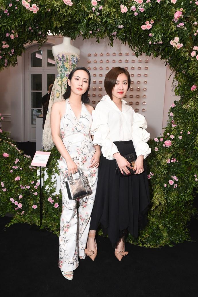 Yimi Ming and Chen Zhou.