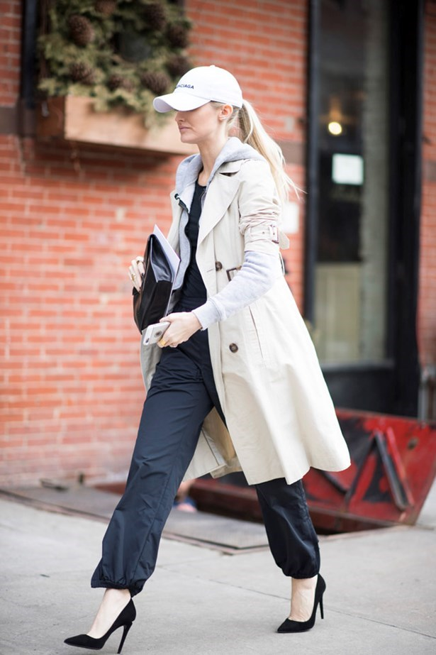 *1. A hoodie + a trenchcoat*  Thanks to Vetements, all things streetwear are trending again. What better way to inject a bit of cool into your existing wardrobe than pairing it with the ultimate classic: A trench.