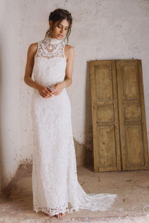 Edie Gown, $1,195 at Spell Bridal.